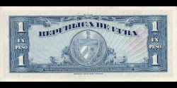 Cuba - p077b - 1Peso - 1960 - Banco Nacional de Cuba