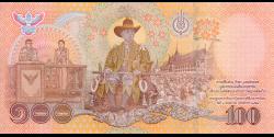Thaïlande - p140 - 100Baht - 2020 - Bank of Thailand
