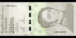 Venezuela - p112a - 200.000 Bolívares soberano - 3.9.2020 - Banco Central de Venezuela