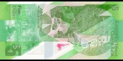 Etats Caraïbes Orientales - new- 5 Dollars - ND (2021) - Eastern Caribbean Central Bank