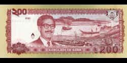 Bangladesh - pnew - 200 Taka - 2020 - Bangladesh Bank