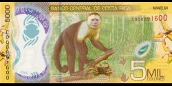 Costa - Rica - pnew - 5 000 Colones - 2018 - Banco Central de Costa Rica