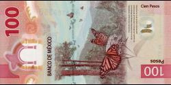 Mexique - pNew - 100 Pesos - 8.5.2020 - Banco de México