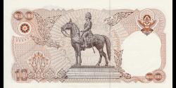 Thaïlande - p098 - 10 Baht - 1995 - Bank of Thailand