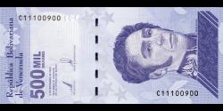 Venezuela - p113a - 500.000 Bolívares soberano - 3.9.2020 - Banco Central de Venezuela