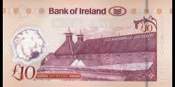 Irlande du Nord - p091 - 10Pounds - 31.05.2017 - Bank of Ireland