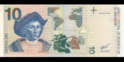 Salvador - p148b - 10 Colones - 2.3.1998 - Banco Central de Reserva de El Salvador