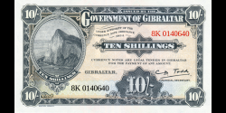 Gibraltar - pNew - 10 Shillings / 50 Pence - 1934 / 2018 - Government of Gibraltar