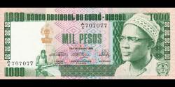 guinée-bissau - p08b - 1 000 pesos - 24.9.1978 - Banco Nacional da Guiné - Bissau