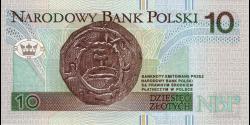 Pologne - p173 - 10Złotych - 25.03.1994 - Narodowy Bank Polski