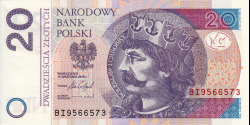 Pologne - p184b - 20Złotych - 15.9.2016 - Narodowy Bank Polski