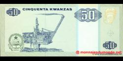 angola - p146a - 50 kwanzas - 10.1999 - Banco Nacional de Angola