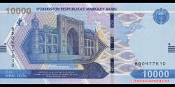 Ouzbékistan - pNEW - 10 000Sum - 2021 - O'zbekiston Respublikasi Markaziy Banki
