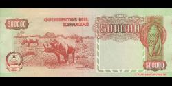 angola - p134 - 500 000 kwanzas - 04.02.1991 - Banco Nacional de Angola