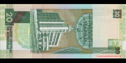 Honduras - p087b - 20 Lempiras - 23.01.2003 - Banco Central de Honduras