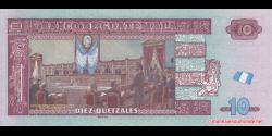 Guatemala - p123Af - 10 Quetzales - 31.01.2018 - Banco de Guatemala