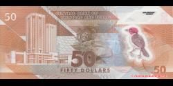 Trinidad et Tobago - p64 - 50 Dollars - 2020 - Central Bank of Trinidad and Tobago