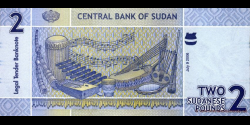 Soudan - p65 - 2 Pounds - 09.07.2006 - Central Bank of Sudan