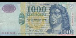 Hongrie - p180b - 1.000 Forint - 1999 - Magyar Nemzeti Bank