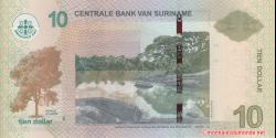 Suriname - p163c - 10 dollars - 01.02.2019 - Centrale Bank van Suriname