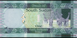 Sud - Soudan - p05 - 1 Pound - ND (2011) - Bank of South Sudan