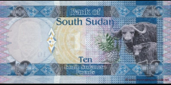 Sud - Soudan - p07a - 10 Pounds - ND (2011) - Bank of South Sudan