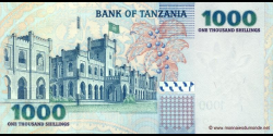 Tanzanie - p36a - 1.000 Shilingi - ND (2003) - Benki Kuu ya Tanzania / Bank of Tanzania