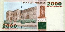 Tanzanie - p37a - 2.000 Shilingi - ND (2003) - Benki Kuu ya Tanzania / Bank of Tanzania