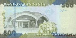 Tanzanie - p40 - 500 Shilingi - ND (2010) - Benki Kuu ya Tanzania / Bank of Tanzania