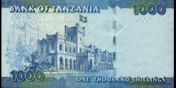 Tanzanie - p41 - 1.000 Shilingi - ND (2010) - Benki Kuu ya Tanzania / Bank of Tanzania