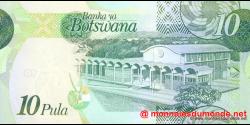 Botswana - p30a - 10 Pula - 2009 - Bank of Botswana / Banka ya Botswana