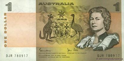 1 dollar, Australie, P-42d